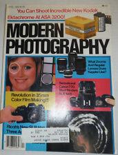 Modern Photography Magazine Revolution In 35mm Color Film April 1984 021315R
