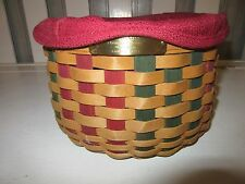 Longaberger Holiday Collection Caroling Basket Combo Basket Ships next day