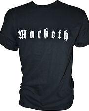 MACBETH - Logo - T-Shirt - XL / Extra-Large - 162507