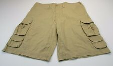 *URBAN UP* SIZE 38/40 MEN'S 100% COTTON CARGO SHORTS W/POCKETS