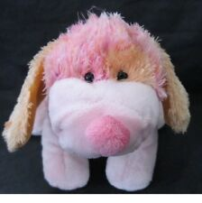Ganz Webkinz PINK PUNCH CHEEKY DOG HM 495 Plush Only No Code puppy pup euc