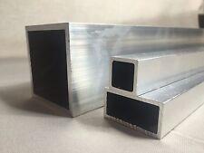 Aluminium Rectangular / Square Tube/Box Section Length 500 mm  -  6000 mm