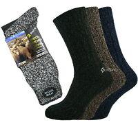 6 Pairs Mens Wool Rich Boot Hike Walking Thermal Chunky Work Socks Size 6-11
