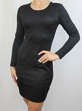H&M Crew Neck Long Sleeve Stretch, Bodycon Dresses for Women