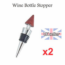 Stunning Chrome Bottle Wine Stopper French Vintage  Useful Drink Reception WO UK