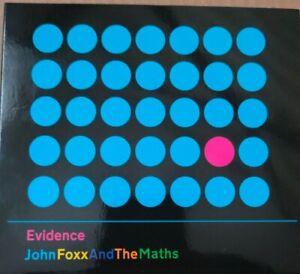 John Foxx And The Maths - Evidence (CD)