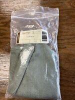 Longaberger Sage Green Solid Single-Handle Small Fruit Basket Liner #2307887 NEW