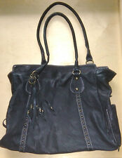 Laura Di Maggio Milano Large Black Leather Handbag