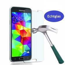 Samsung Galaxy S5 Panzerglas Schutzfolie 9H Folie Glas Displayschutz Echtglas