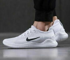 Nike Free RN Run 2018 942836-100 White/Black Size UK 10 EU 45 US 11 New