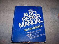 Motor Auto Repair Manual 1977-1983 No 16746 46th Edition Small Cars 1977 to 1988