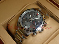 Chopard Mille Miglia GMT Chronograph Stainless Silver Dial 42.5mm 158992-3005
