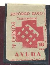C.R RARO SELLO SIN DENTAR SOCORRO ROJO INTERNACIONAL 10 CTS