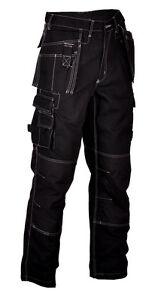 Texxor Multifunktion Cordura Herren Arbeitshose Bundhose Workwear schwarz 4311