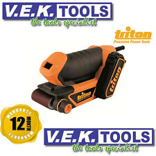 TRITON TOOLS 64MM Mini Palm Belt Sander TCMBS-1YR AUS WARRANTY
