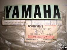 NOS Yamaha YT125 YTM225 Front Fork Emblem 4U3-23395-00