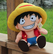 ONE PIECE - PELUCHE LUFFY 40cm / ONE PIECE LUFFY PLUSH TOY 16""