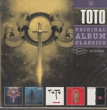 Toto / Toto, Hydra, Turn Back, Toto IV, Isolation (5 CDs,OVP)