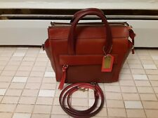 New! Coach Bleecker Riley Carry all  Leather Satchel 28042
