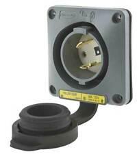 Dispositivo de cableado HUBBELL-KELLEMS HBL2615SW 30A entrada de bloqueo de giro con bridas estanco