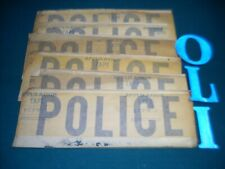 "NOS "" POLICE "" decals.  Police car decals."