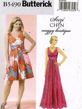 Butterick Misses'  Dress Pattern B5490 Size 16-22 UNCUT