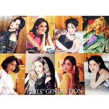 SNSD GIRLS' GENERATION - 12 PHOTO POSTERS + STICKER SET A3 Size Bromide K-POP