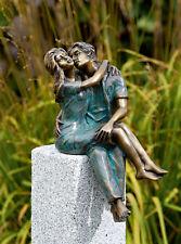 Bronzefigur Junges Glück H33cm Rottenecker Bronze Skulptur Liebespaar Liebe Paar