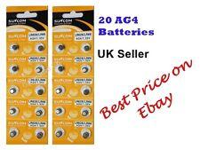 20xAG4 SR626SW,377LR6261 .5 Reloj de batería tipo moneda/botón valkaline Baterías/Batería B3