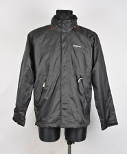 Didriksons Hooded Storm System Men Light Jacket Size M, Genuine