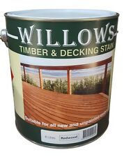 Willows Timber Decking  Furniture Window Beams Stain OiL Based 4L Redwood