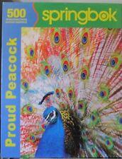 PROUD PEACOCK - Complete - SPRINGBOK PUZZLE