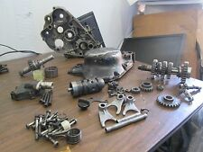 1982 Suzuki Rm125 Clutch Actuator Left Crankcase Clutch Cover Oil Plug Parts Lot
