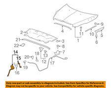 Buick GM OEM 08-12 Enclave Hood-Lock Latch 20765607