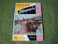 Faller ams   - Magazin Nr. 6
