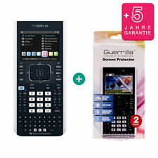 TI Nspire CX Taschenrechner Grafikrechner + Schutzfolie und Garantie