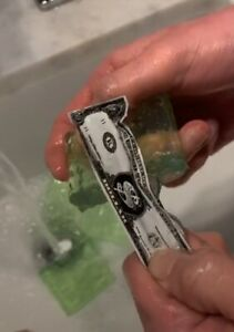 Money Soap Challenge   Soap With Money Inside