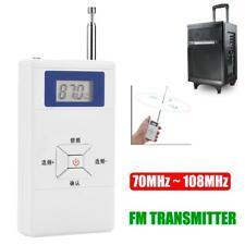 Mini Portable Wireless FM Transmitter Stereo Pocket Audio Radio 70MHz ~ 108MHz