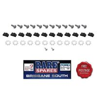 HOLDEN HQ HJ HX HZ WB FRONT INNER GUARD & WHEEL ARCH MOULD BOLT MOUNTING KIT GTS