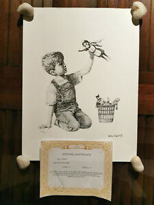 BANKSY GAME CHANGER, LIMITED EDITION OF 150, #28