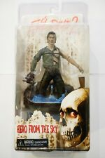 """EVIL DEAD 2, ASH  7"""" HERO FROM THE SKY FIGURE Comic Con 2012 Exclusive! Rare!"""