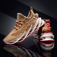 Mens Springblade Athletic Sneakers Breathable Sports Trail Running Walking Shoes