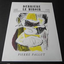 Derriere le Miroir #9 1948 Art Magazine PIERRE PALLUT Maeght Editeur Lithograph