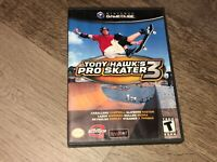 Tony Hawk Pro Skater 3 Nintendo Gamecube Complete CIB Authentic