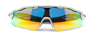 Oakley Men's RADAR EV PATH Sunglasses Yellow Iridium Lens Matt Black Frame