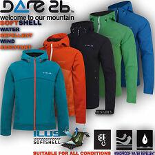 Dare2b Jacket Softshell Windproof Revelry Outdoor Hiking Walking Running Gym Top