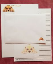Woofy Dog Day Letter Writing Paper & Envelopes series / Set 1