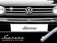 VW Golf 4/IV & Variant,Cabrio (Typ 1J) 3M Chrom-Zierleisten für Kühlergrill oben