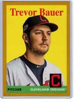Trevor Bauer 2019 Topps Archives 5x7 Gold #57 /10 Indians