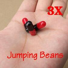 UN3F  3 Jumping Beans Toy Gift Comedy Magic Trick Jokes E